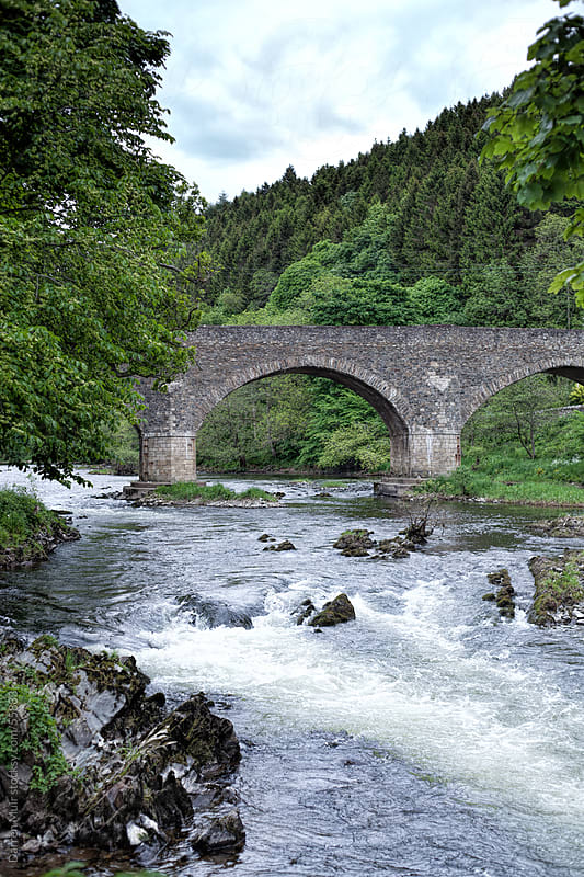 The River Tweed.Scotland. by Darren Muir for Stocksy United
