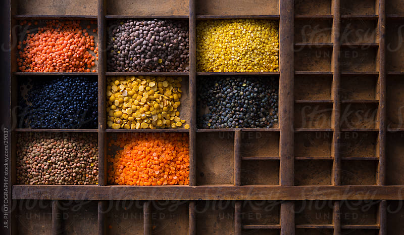 Lentils by J.R. PHOTOGRAPHY for Stocksy United