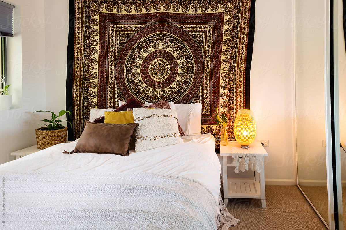 Boho Bedroom Decor By Gillian Vann For Stocksy United