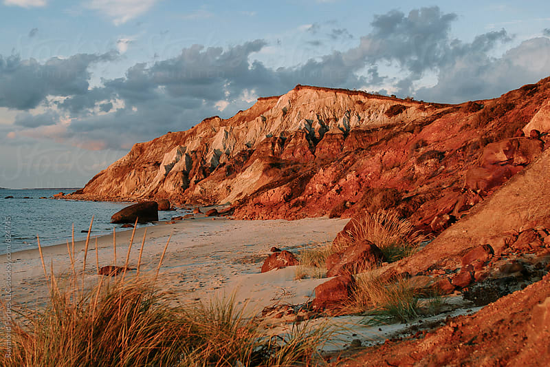 Gay Head Cliffs Martha's Vineyard, Massachusetts by Raymond Forbes LLC for Stocksy United