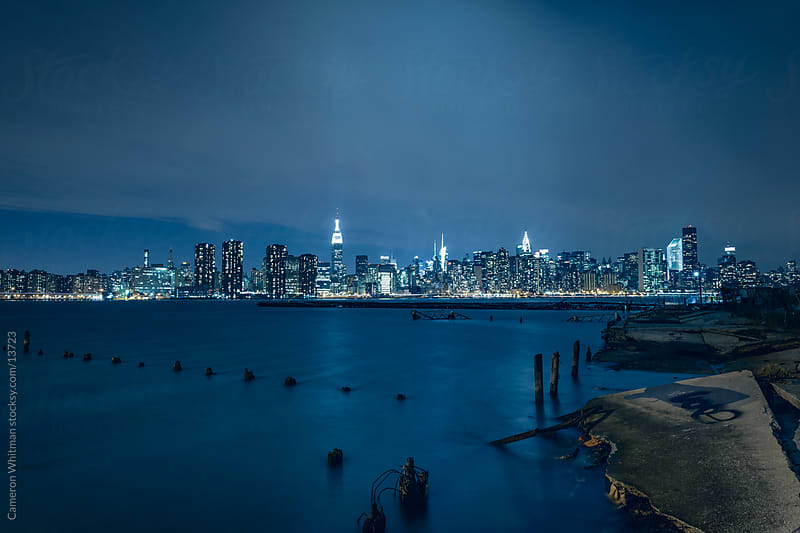 Manhattan From Greenpoint by Cameron Whitman for Stocksy United