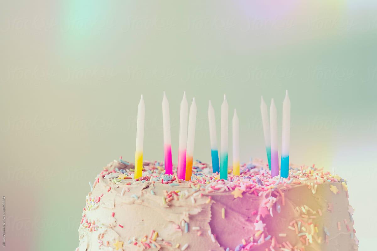 Miraculous 11 Year Old Girls Birthday Cake By Gillian Vann Stocksy United Funny Birthday Cards Online Elaedamsfinfo