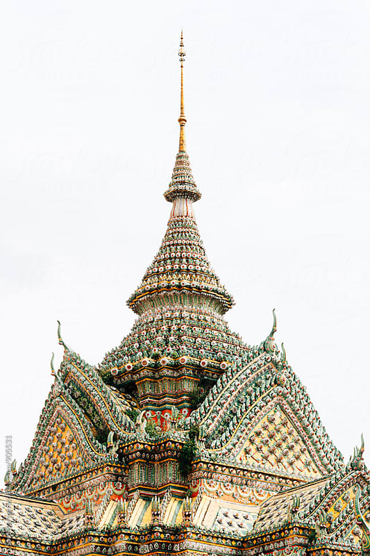 Thai Temple by Sam Burton for Stocksy United