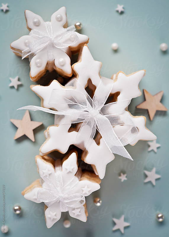 Pretty christmas cookies. by Rachel Dewis for Stocksy United