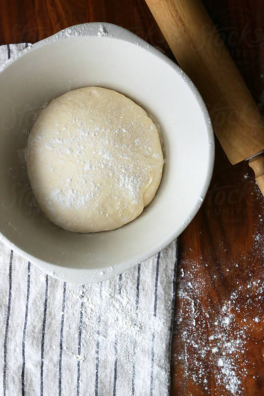 Rising Dough Ready For Baking by ALICIA BOCK for Stocksy United
