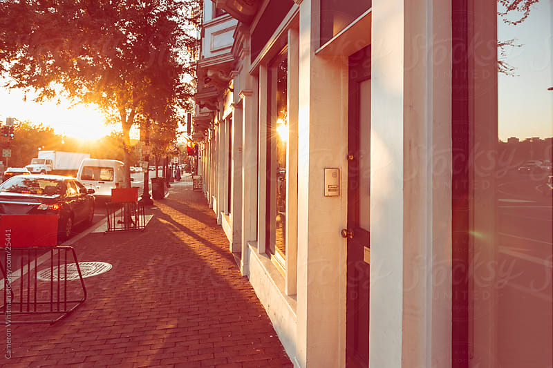 Shops In Georgetown, Washington DC by Cameron Whitman for Stocksy United