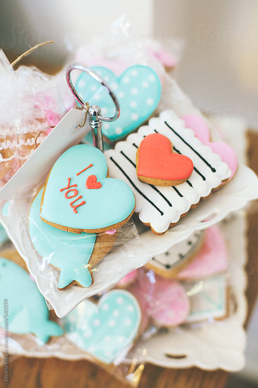 Valentine cookies by Jovana Rikalo for Stocksy United