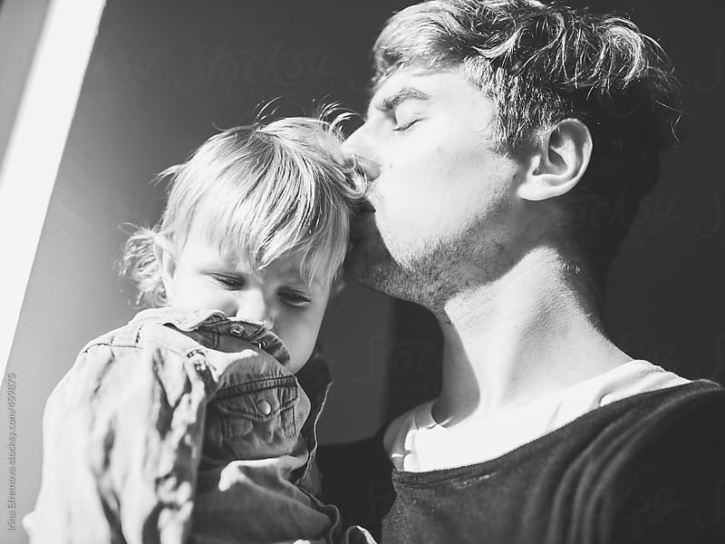 Young father with his son by Irina Efremova for Stocksy United