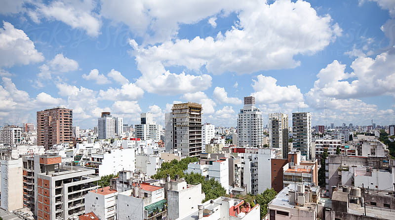 Buenos Aires Skyline by Goldmund Lukic for Stocksy United