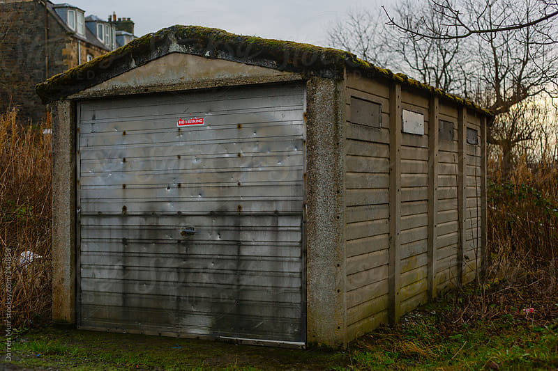 Old car garage by Darren Muir for Stocksy United