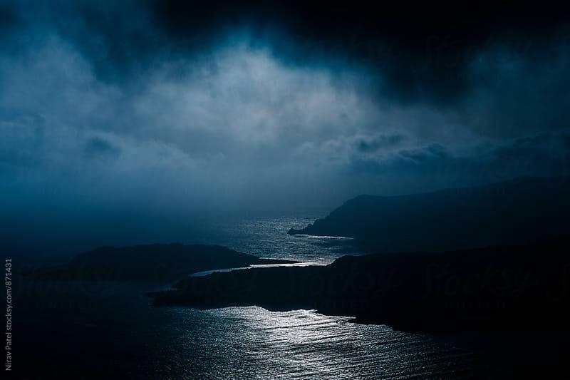 Santorini Sunset.  by Nirav Patel for Stocksy United