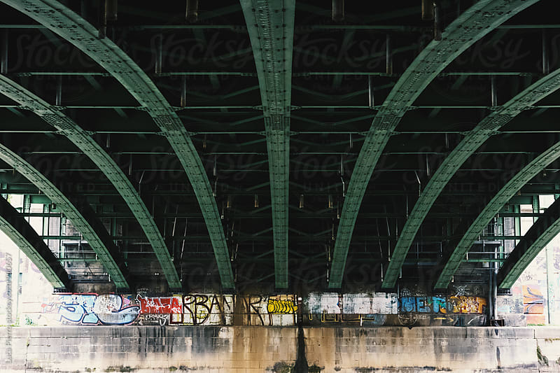 Under the bridge by Luca Pierro for Stocksy United