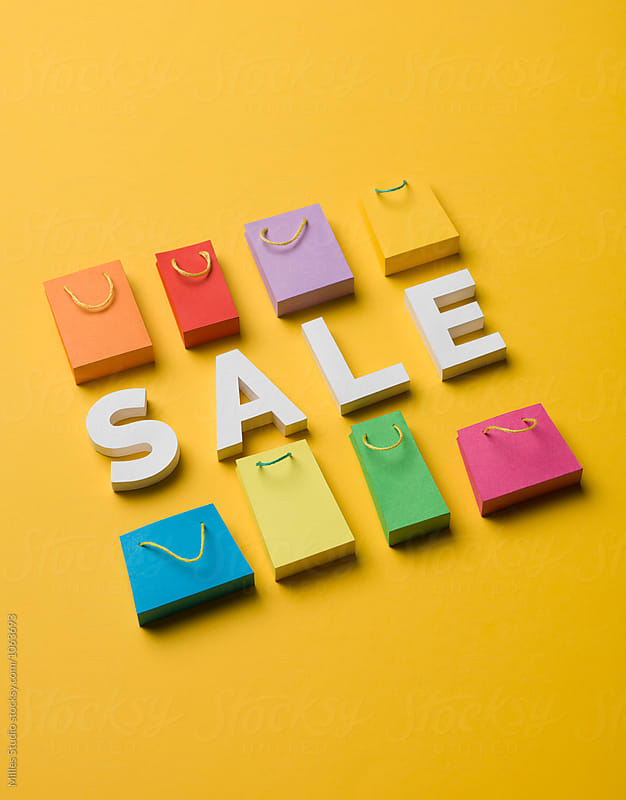 Sale concept by Milles Studio for Stocksy United