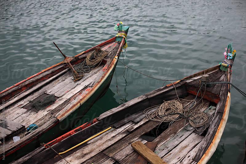 fishing boat in Thailand by Nat sumanatemeya for Stocksy United