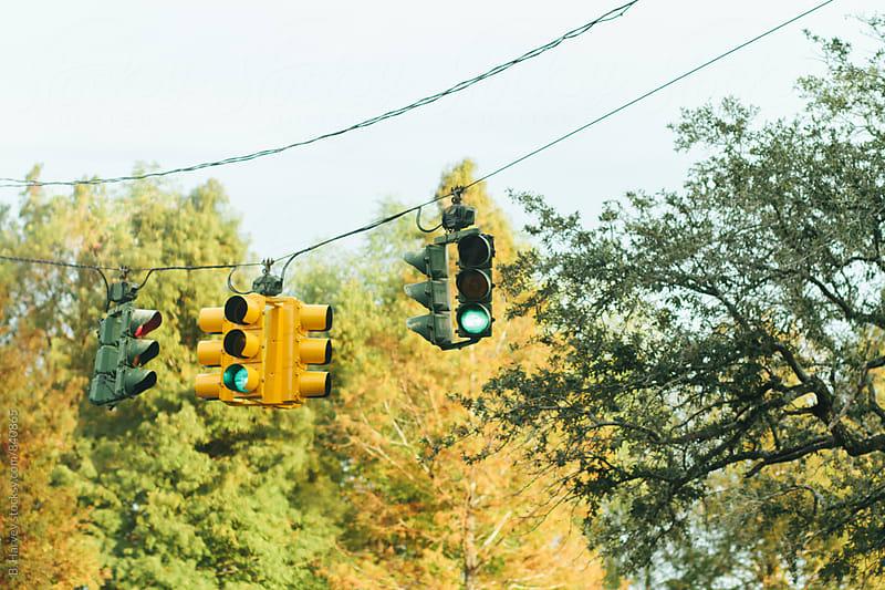 Traffic Lights by B. Harvey for Stocksy United