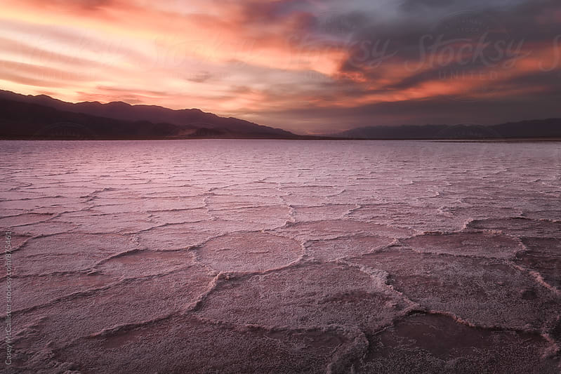Death Valley Sunset by Casey McCallister for Stocksy United