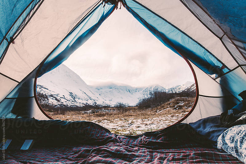 Tent View for Two by Jake Elko for Stocksy United