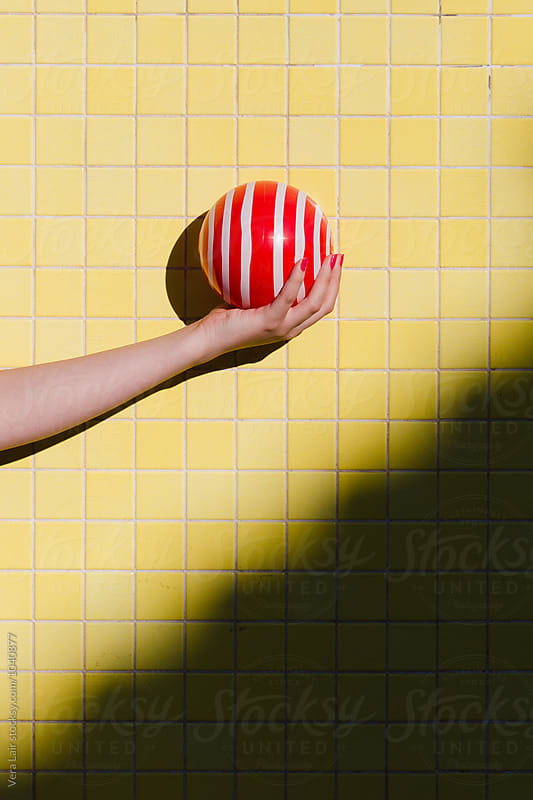 The red ball by Vera Lair for Stocksy United