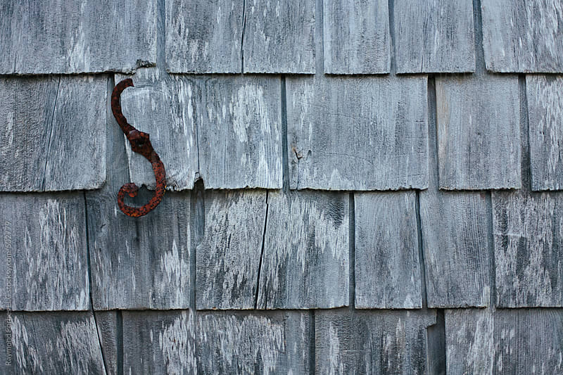Weathered Shingles on Cottage of Cape Cod Cottage by Raymond Forbes LLC for Stocksy United