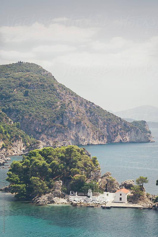 Seaside Landscape, Greece by Aleksandra Jankovic for Stocksy United