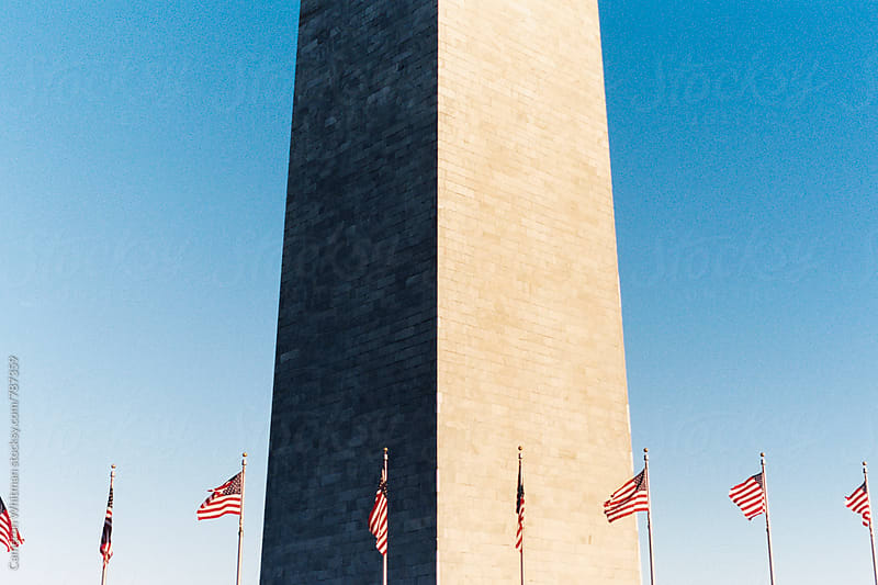 Washington Monument at Sundown by Cameron Whitman for Stocksy United
