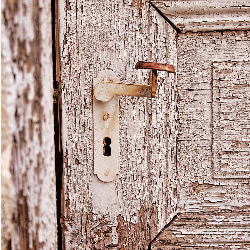 Old Door Handle  by Ani Dimi for Stocksy United