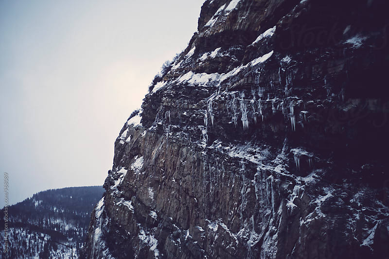 Colorado Cliff by Sean Horton for Stocksy United