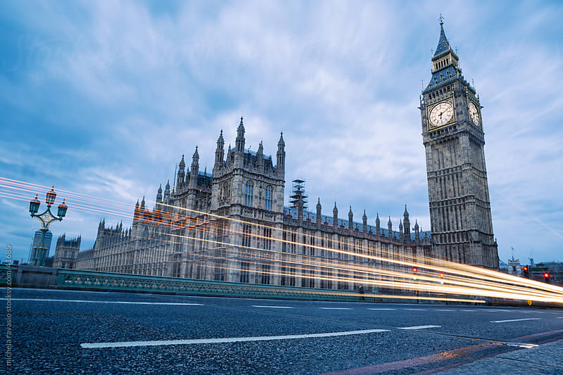 Big Ben and Houses of Parliament in London. by michela ravasio for Stocksy United