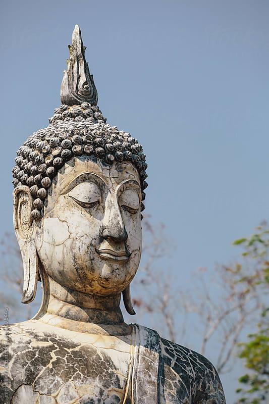 Buddha head by michela ravasio for Stocksy United