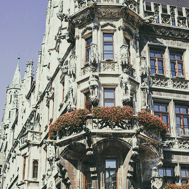 Details of an old church at Marienplatz by Maja Topcagic for Stocksy United