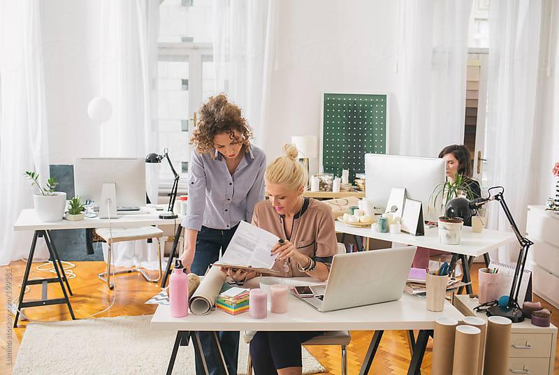 Businesswomen Working by Lumina for Stocksy United