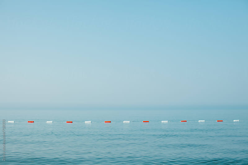 Minimalistic seascape by Zocky for Stocksy United