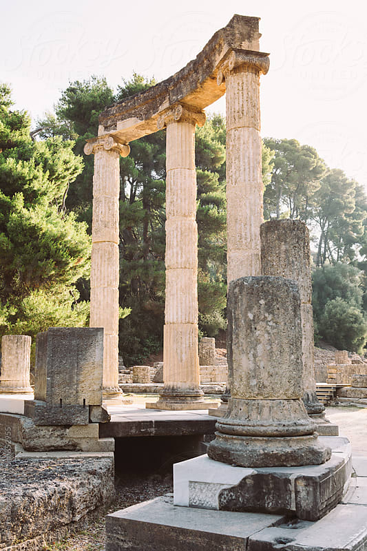 Olympia in Peloponnes, Greece. by Alberto Bogo for Stocksy United