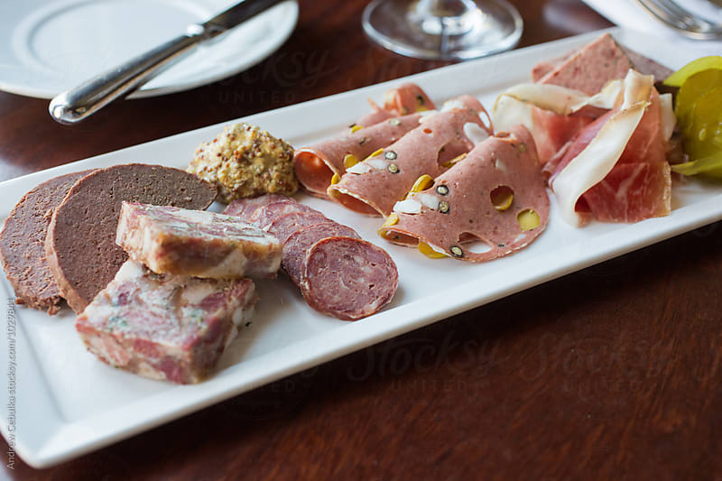 Assorted Charcuterie by Andrew Cebulka for Stocksy United