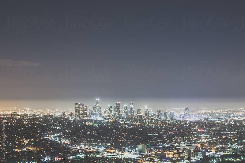 Los Angeles Skyline by Luke Gram for Stocksy United