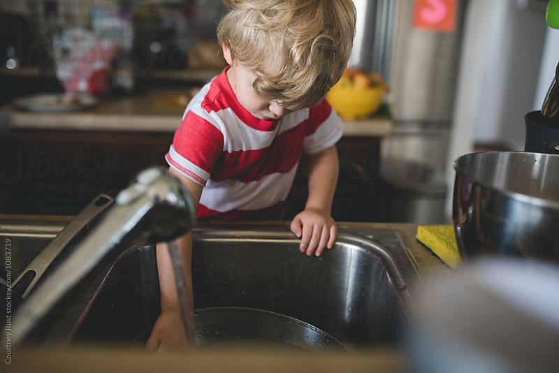 Sink Helper by Courtney Rust for Stocksy United