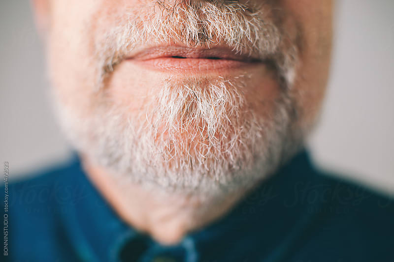 Bearded mature man. by BONNINSTUDIO for Stocksy United