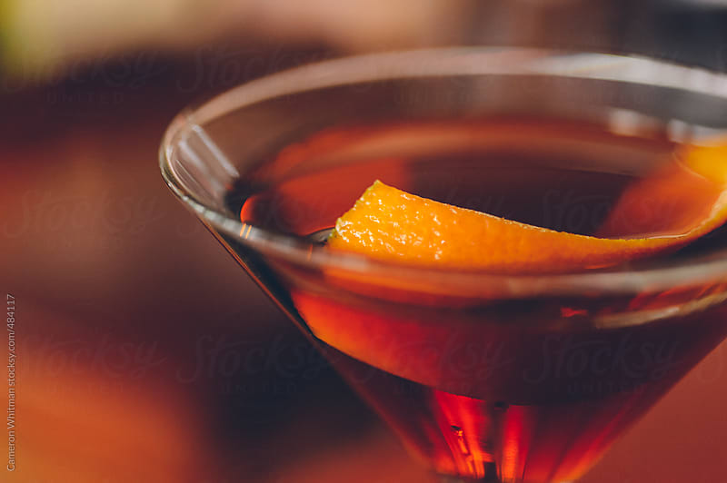 Manhattan with orange peel by Cameron Whitman for Stocksy United