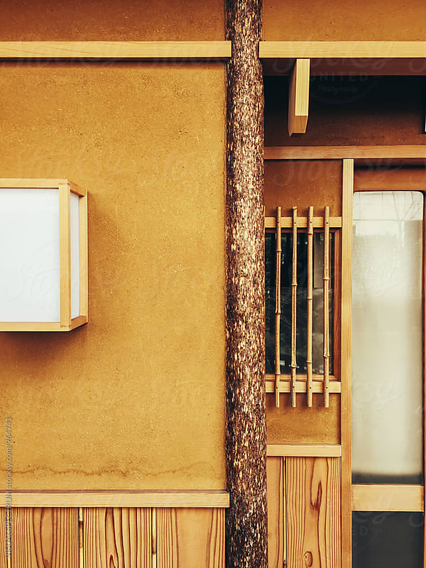 Japanese Aesthetics - Earthen House Wall Detail by Julien L. Balmer for Stocksy United