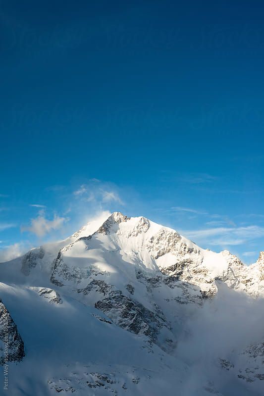 Piz Bernina by Peter Wey for Stocksy United