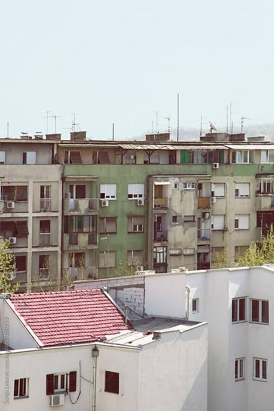 buildings by Sonja Lekovic for Stocksy United