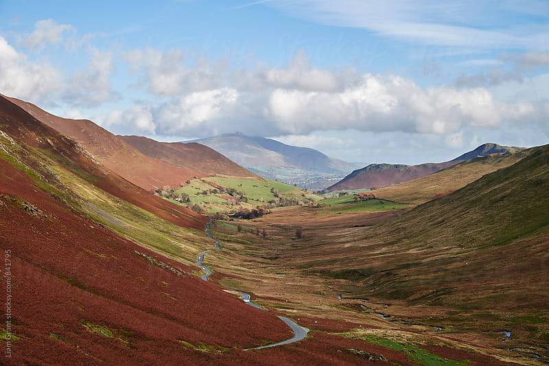 View to Keskadale. Cumbria, UK. by Liam Grant for Stocksy United