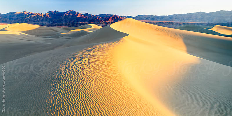 Sand dunes, Death Valley, California, USA, North America by Gavin Hellier for Stocksy United