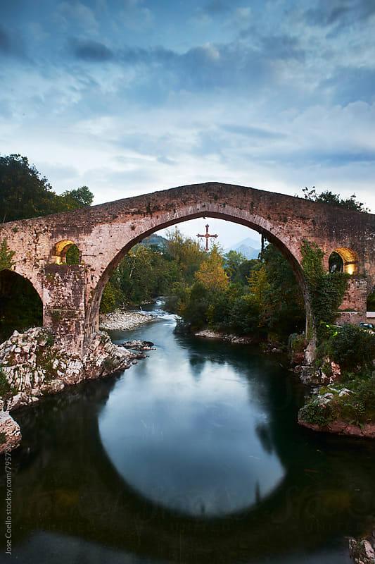Roman Bridge by Jose Coello for Stocksy United
