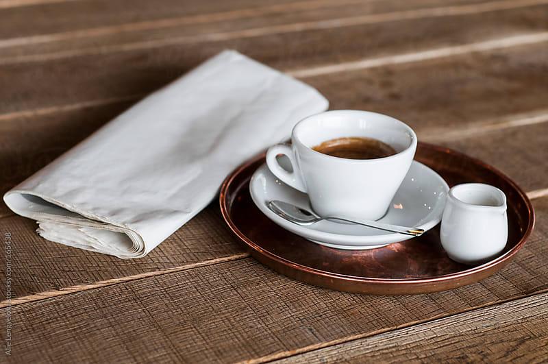 Coffee Break by Alie Lengyelova for Stocksy United