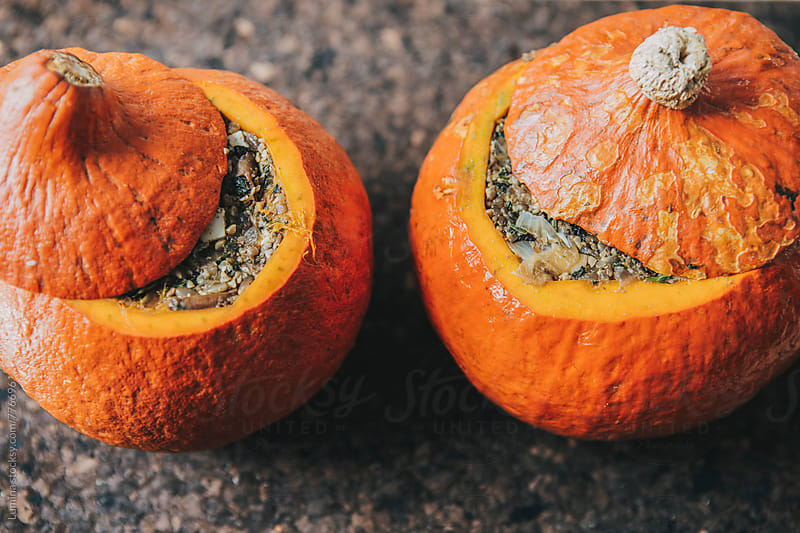 Stuffed Pumpkins  by Lumina for Stocksy United