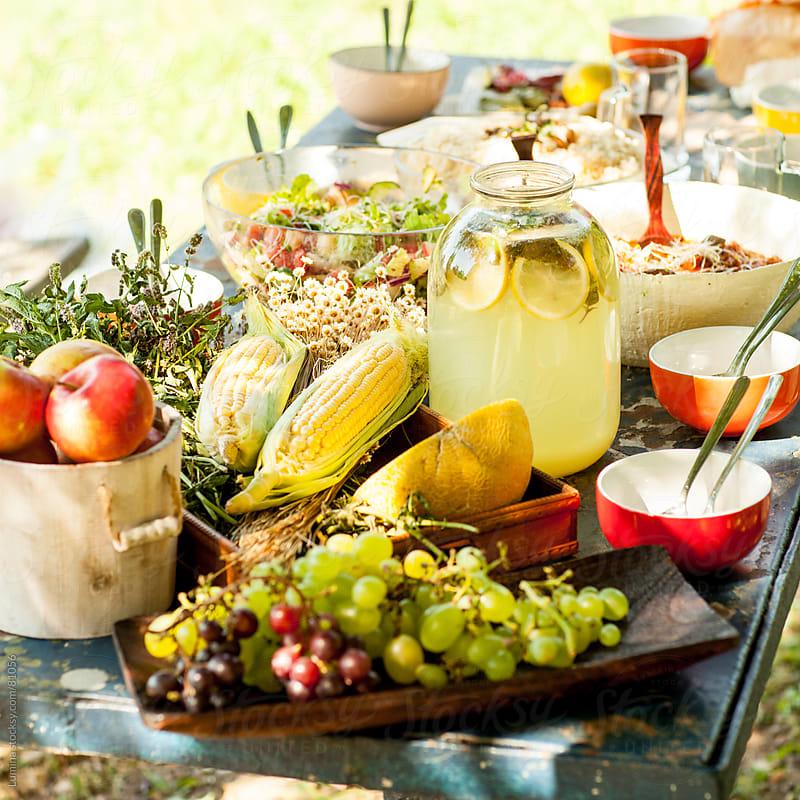 Vegan Feast by Lumina for Stocksy United