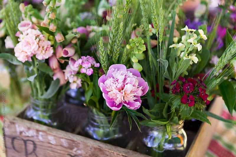 Flower arrangement  by Mental Art + Design for Stocksy United