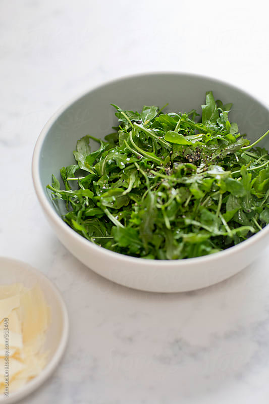 Arugula Salad  by Kim Lucian for Stocksy United