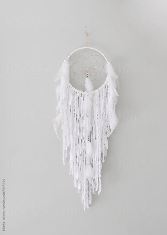White Dream Catcher by Marta Locklear for Stocksy United